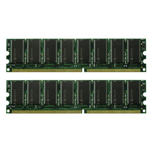 Centon 2GBDUALPC3200 2GB PC3200 400 MHz DDR DIMM Memory Kit (Pe Design 6 Upgrade compare prices)
