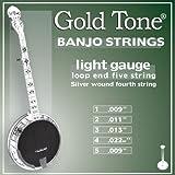Gold Tone Banjo Strings, Light Gauge
