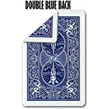 Double Back BLUE Bicycle POKER Size Cards ( Pack Of 10 Cards )