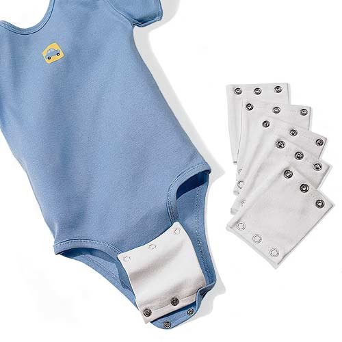 Add a Size Baby Clothes Extender 10-Pack, Onsie Extender
