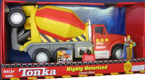 tonka mighty motorized cement mixer 021664049518