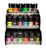 Matte Style 16 Piece Color Nail Lacquer Combo Set + 6 Sets of Fruit Scented Nail Polish Remover - Best Reviews Guide