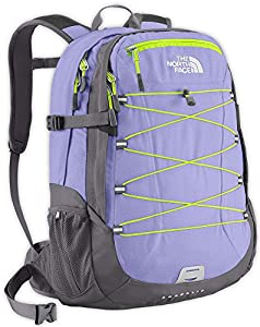 The North Face Women's Borealis Backpack - Lavendula Purple/Safety Green, One Size (Old Version)