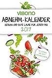 Platz 4: Vibono Abnehm-Kalender 2017 - Genuss und gute Laune für jede