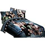 "WWE Industrial Strength Twin 64""x86"" Microfiber Comforter"