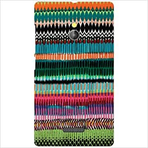 Design Worlds - Nokia XL RM-1030/RM-1042 Designer Back Cover Case - Multico...