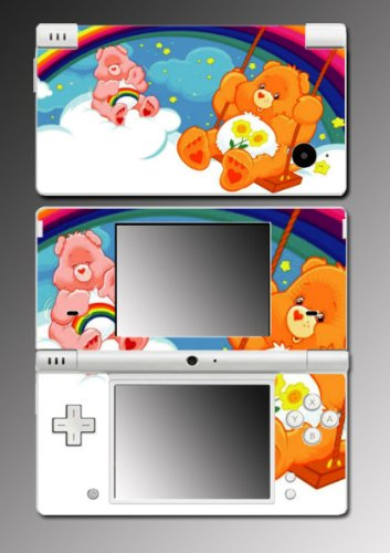 Care Bears stuffed animal game Vinyl Decal Skin Protector Cover for Nintendo Dsi
