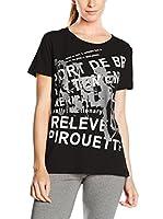 Dimensione Danza Camiseta Manga Corta (Negro)