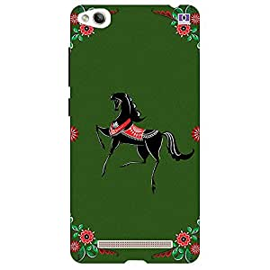 Black Horse - Mobile Back Case Cover For Xiaomi Redmi 3S