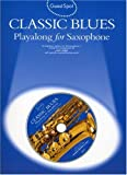 Guest Spot Classic Blues Playalong For Alto Saxophone Asax Book/Cd