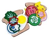 Happy People 45032 - s�ndwich de madera, juguetes de cocina