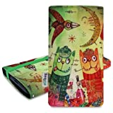 Pouch 'MIKA' for Samsung Galaxy S3 mini i8190 - Tipsy Cats