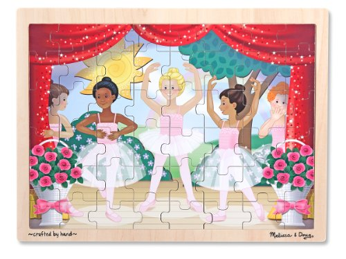 Melissa & Doug Ballet Performance Wooden Jigsaw Puzzle (48 Pieces)