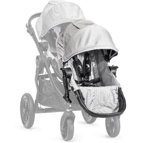 Baby Jogger City Select Second Seat Kit Silver front-1042603