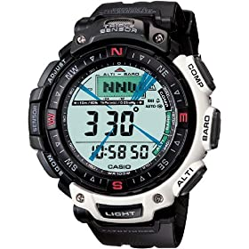 Casio Men's Pathfinder Triple Sensor Multi-Functional Digital Watch #PAG40-7