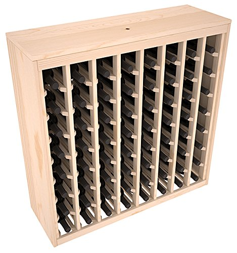 Wine Racks America Ponderosa Pine 64 Bottle Deluxe. 13 Stains to Choose From! (Fancy Wine Cabinet compare prices)
