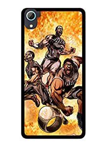 FurnishFantasy 2D Designer Back Case Cover for HTC Desire 826