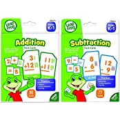 Leap Frog Addition And Subtraction Flash Cards For Grades K 1 Bundle (19415 & 19416)