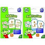 Leap Frog Addition And Subtraction Flash Cards For Grades K 1 Bundle (19415 & 19416)