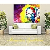 Canvas Original Steve Jobs Art Digital Print, Portrait, Abstract Art, Wall Hanging , Gift Ideas, Modern Art (36X24...