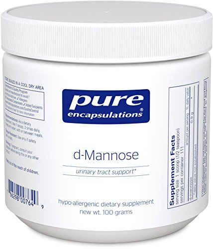 Pure Encapsulations - d-Mannose Powder - Hypoallergenic Supplement for Urinary Tract Support* - 100 Grams (Pure Encapsulations D Mannose compare prices)