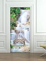 Ambiance Sticker Vinilo Decorativo Door Waterfall