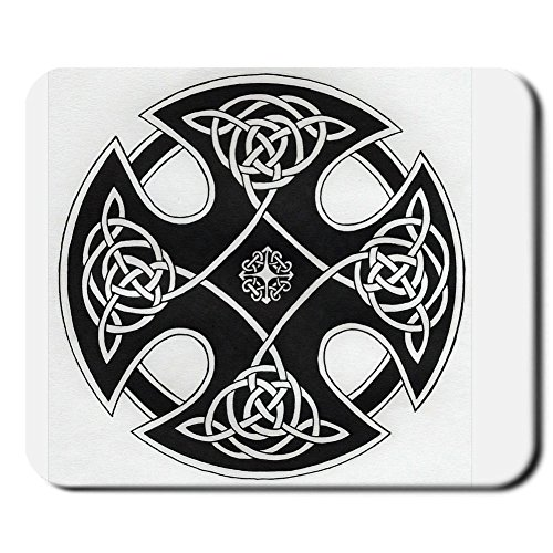 Generic Mp Silica 240Mmx200Mmx2Mm Mouse Pad Custom Design With Celtic Black Friday Choose Design 4