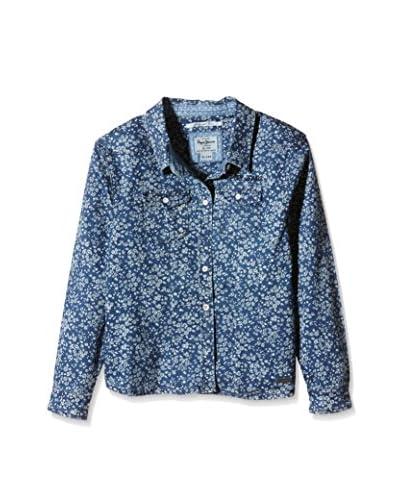 Pepe Jeans London Camicia Casual Beatrice [Blu Scuro]
