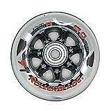 Rollerblade Wheel Kit 90mm 84A SG9 Inline Skate Wheels with SG9 Bearings - 8 Pack 2014 by Rollerblade