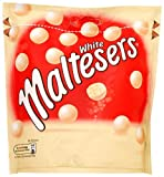 Mars Maltesers White Chocolate Pouch 130 g (Pack of 10)