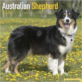 Australian Shepherd Calendar - Only Dog Breed Australian Shepherds Calendar - 2016 Wall calendars - Dog Calendars - Monthly Wall Calendar by Avonside