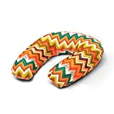 Shopboxx Aztec Pattern U -Shaped Memory Foam Travel Neck Pillow