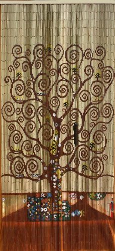Tree of Life Beaded Door Curtain