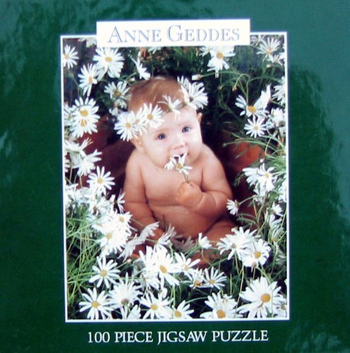 Anne Geddes Mini 100pc. Puzzle-Baby in Daisies 1997 - 1