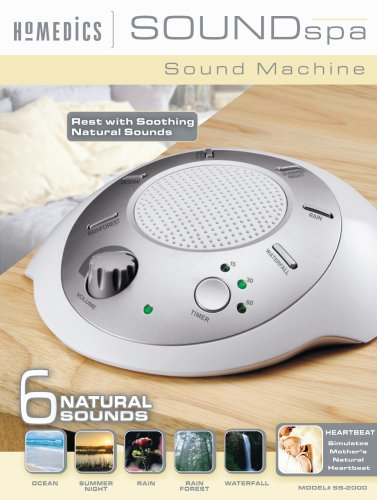 homedics portable sound machine