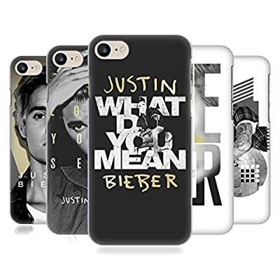 Official Justin Bieber Purpose B&W Hard Back Case for Apple iPhone 7