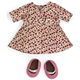 North American Bear Company Rosy Cheeks Big Sister Wrap Dress