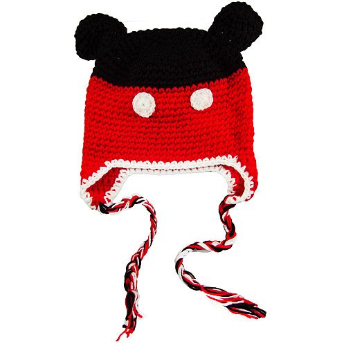 Mickey Mouse Knitted Hat Pattern : Mickey Mouse Knit Hat Pattern Joy Studio Design Gallery - Best Design
