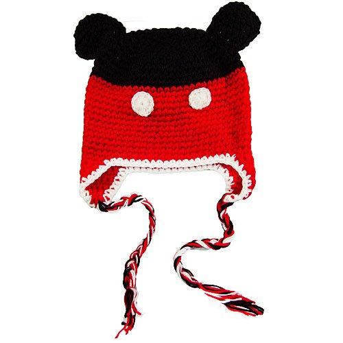 Knit Mickey Mouse Hat Pattern : Mickey Mouse Knit Hat Pattern Joy Studio Design Gallery - Best Design