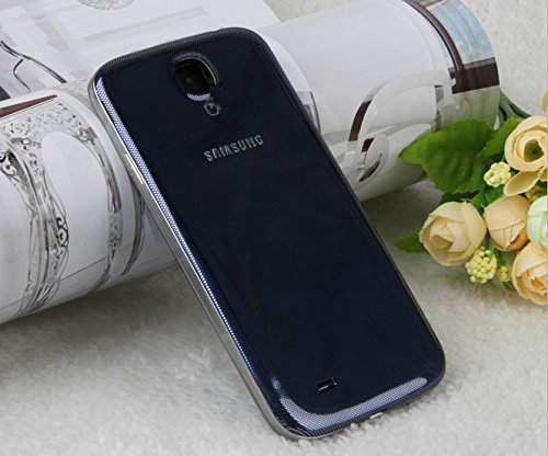 Blue Original OEM Samsung Galaxy S4 SIV Back Cover Housing Battery Door i9500 i9505 i545 L720 i337 M919 (Samsung S4 Back Cover Replacement compare prices)