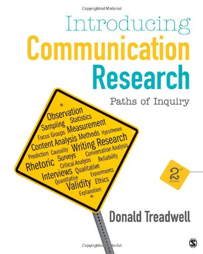 Introducing Communication Research: Paths of Inquiry