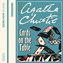 Cards on the Table Audiobook by Agatha Christie Narrated by Hugh Fraser