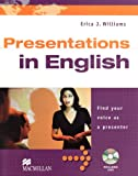 Business Skills: Presentations in English: Find your voice as a presenter / Student's Book with DVD title=