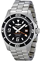 Breitling Men's A1739102/BA80 Superocean 44 Black Dial Watch from Breitling