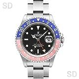 [ロレックス]ROLEX腕時計 GMTマスター ブラック/レッドブルーベゼル Ref:16700 メンズ [中古] [並行輸入品]