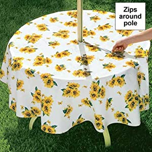 Custom Outdoor Tablecloths at Trendy Tablecloths