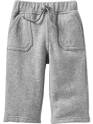Gap-Baby-Boy-Cozy-Fleece-Jogging-Bottoms-Joggers-Jog-Pants-Toddler-Black-Grey