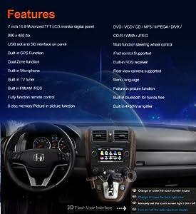 Tyso For Honda CR-V 7 CAR DVD Player (2006-2011) GPS