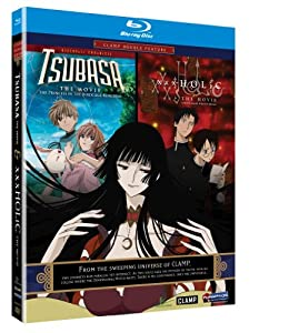 Tsubasa: The Movie - The Princess in the Birdcage Kingdom / xxxHolic: The Movie - A Midsummer Night's Dream (CLAMP Double Feature) [Blu-ray]