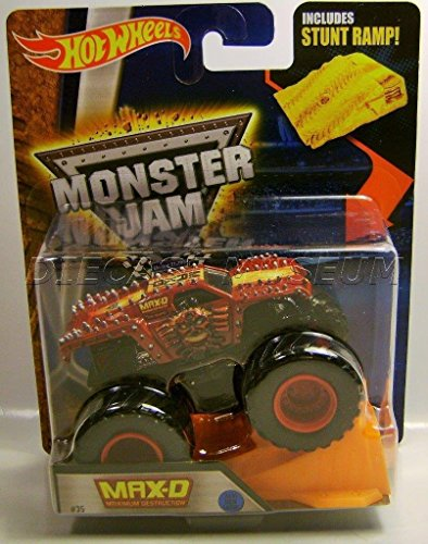 Max-D Maximum Destruction 2016 red edition (Backwards Bob Monster Truck compare prices)